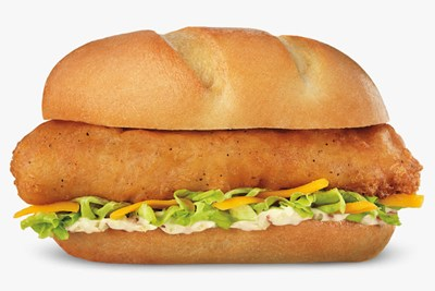 North Atlantic Cod Filet Sandwich
